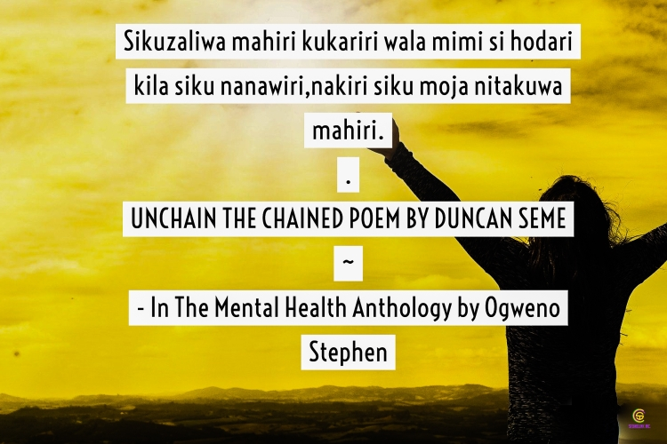 QUOTES FROM THE MENTAL HEALTH ANTHOLOGY BOOK BY OGWENO STEPHEN (25)
