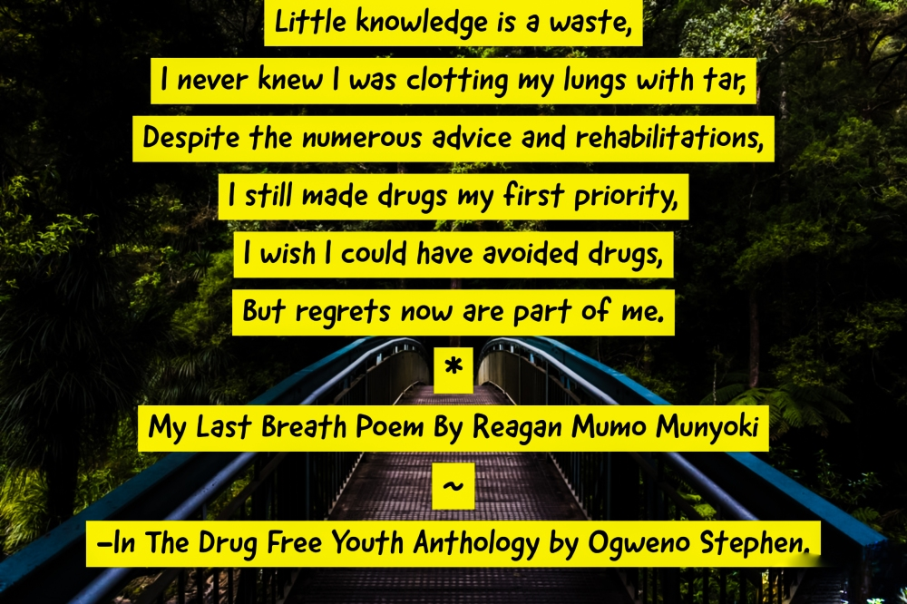 QUOTES FROM THE DRUG FREE YOUTH BOOK BY OGWENO STEPHEN (10)
